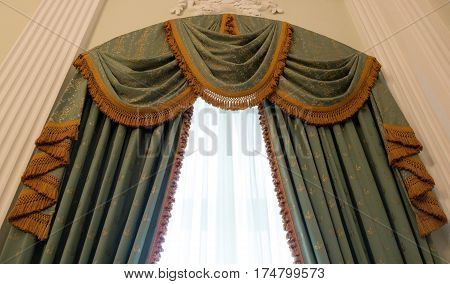 Curtains As An Element Of The Window Decoration