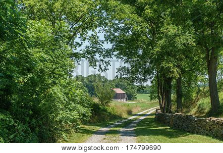The Roulette Farm Lane, Antietam National Battlefield