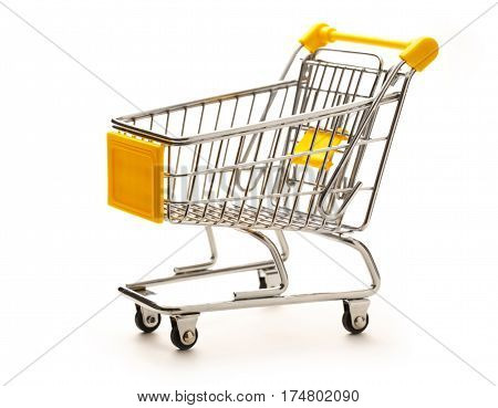 Empty Pushcart
