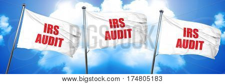 irs audit, 3D rendering, triple flags
