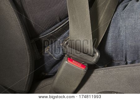 Safety strap used to protect from collision
