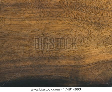 Old walnut wood slab texture and background