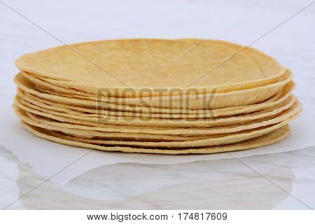 Delicious Mexican Corn Tortillas