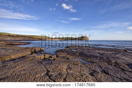 Kimmeridge Bay in Dorset in England near Poole
