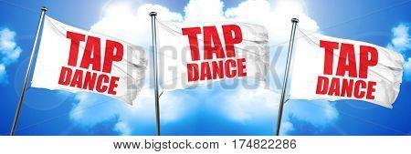 tap dance, 3D rendering, triple flags