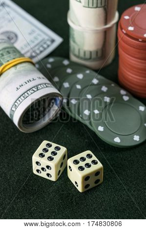 Dice, Chips And Cash