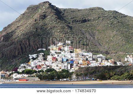 San Andres village on Tenerife island in Spain