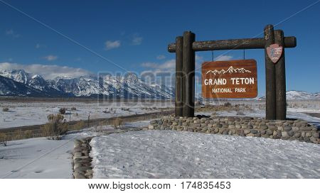 Welcome to Grand Teton National Park in Wyoming