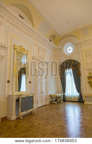 Interior Of The Petroff Palace, Moscow, Russia