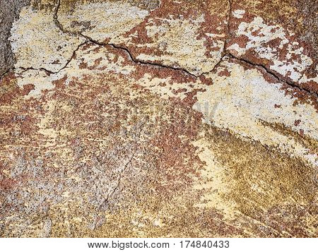 Light Brown Wall Texture, Background For Design