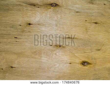 Natural knotted wood texture as background. background plywood