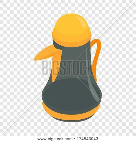 Pitcher isometric icon 3d on a transparent background vector illustration