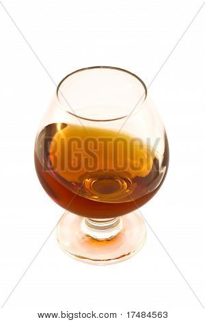 Wine Glass With Alcohol