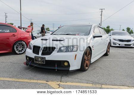 Pontiac G8 On Display