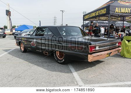 Plymouth Gtx On Display