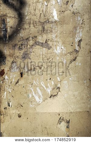 Old Painted, Metal Surface