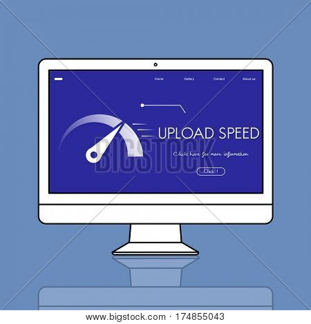 Upload Speedometer Download Fast Data