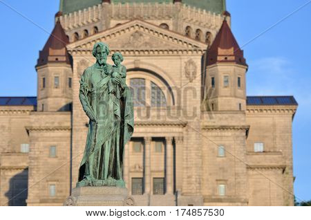 Saint Joseph Oratory (French: Oratoire Saint-Joseph) in Montreal, Quebec, Canada.