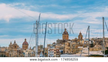 View To St. Lawrence's And Annunciation Churches