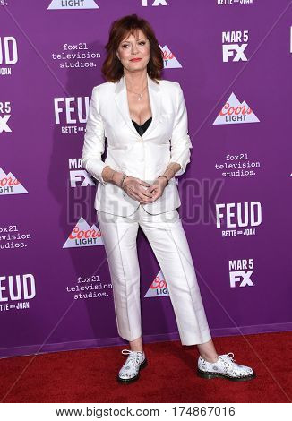 LOS ANGELES - MAR 01:  Susan Sarandon arrives for the
