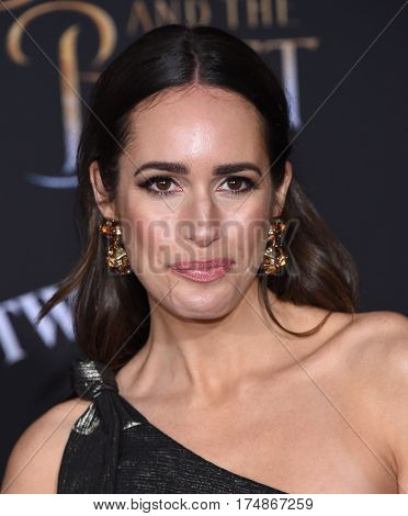 LOS ANGELES - MAR 02:  Louise Roe arrives for the