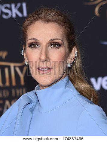 LOS ANGELES - MAR 02:  Celine Dion arrives for the