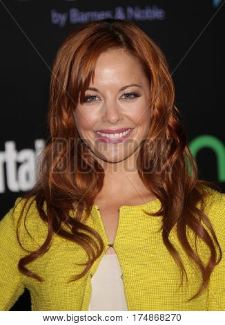 LOS ANGELES - MAR 12:  AMY PAFFRATH arrives for the