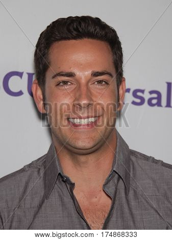 LOS ANGELES - AUG 02:  Zachary Levi arrives for the Summer 2011 TCA Party-NBC on August 1, 2011 in Beverly Hills, CA
