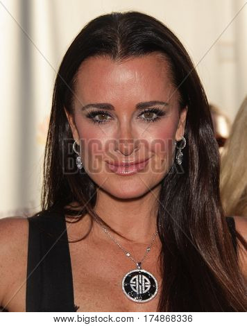 LOS ANGELES - AUG 02:  Kyle Richards arrives for the Summer 2011 TCA Party-NBC on August 1, 2011 in Beverly Hills, CA