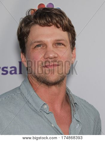 LOS ANGELES - AUG 02:  Marc Blucas arrives for the Summer 2011 TCA Party-NBC on August 1, 2011 in Beverly Hills, CA