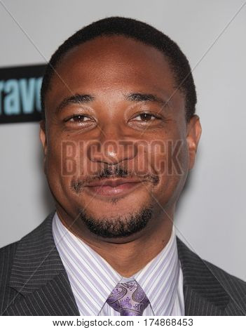 LOS ANGELES - AUG 02:  Damon Gupton arrives for the Summer 2011 TCA Party-NBC on August 1, 2011 in Beverly Hills, CA