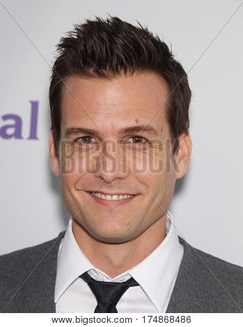 LOS ANGELES - AUG 02:  Gabriel Macht arrives for the Summer 2011 TCA Party-NBC on August 1, 2011 in Beverly Hills, CA