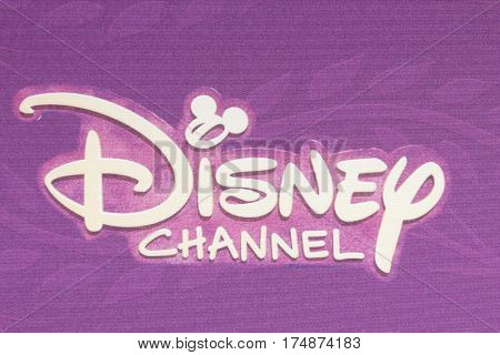 LOS ANGELES - MAR 4:  Disney Channel Emblem at the