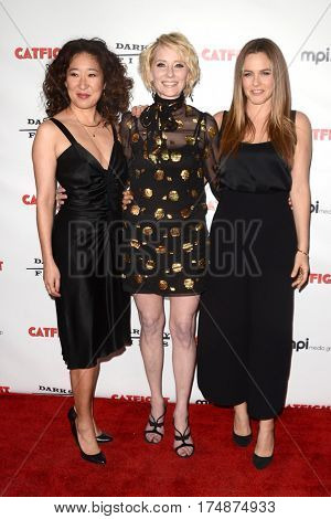 LOS ANGELES - MAR 2:  Sandra Oh, Anne Heche, Alicia Silverstone at the