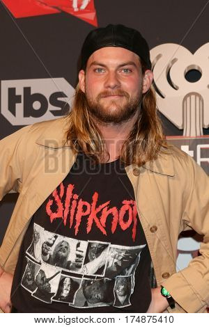 LOS ANGELES - MAR 5:  Jake Weary at the 2017 iHeart Music Awards at Forum on March 5, 2017 in Los Angeles, CA