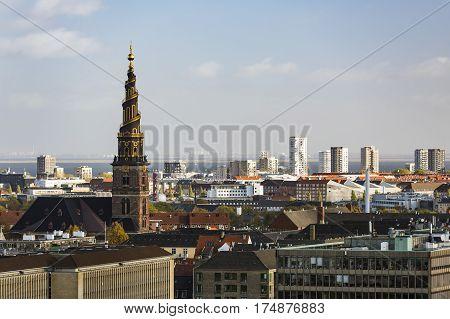Copenhagen Church Of Our Saviour, Denmark
