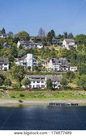 Rurberg Village At Lake Rursee, Germany