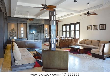 Pikaia Lodge Lobby