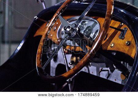 Blue 1932 Bugatti Type 55 Super Sport