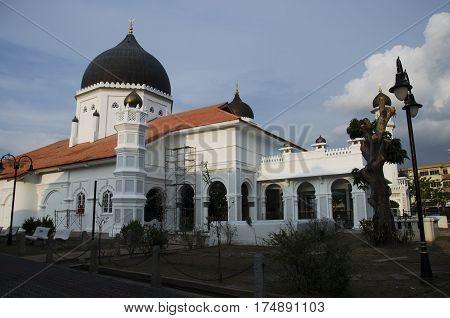 The Kapitan Keling Mosque Or Malay Name: Masjid Kapitan Keling