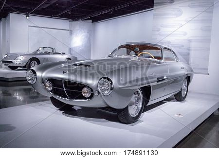 Silver 1953 Fiat 8V Supersonic By Ghia
