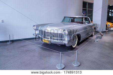 Silver 1957 Lincoln Continental Mark Ii