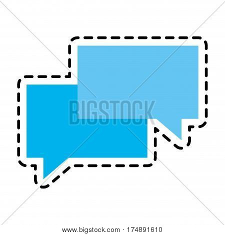 instant messaging icon image vector illustration design