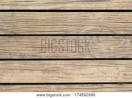 Pale wood background. Natural wood texture with horizontal lines. Wooden background for banner. Timber texture closeup. Horizontal wooden planks of floor backdrop photo. Natural material for banner