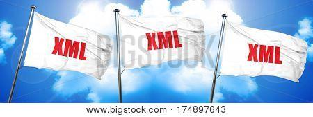 xml, 3D rendering, triple flags