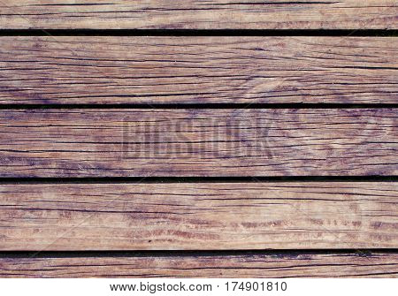 Warm wood background. Natural wood texture with horizontal lines. Wooden background for banner. Timber texture closeup. Horizontal wooden planks of floor backdrop photo. Natural material for banner