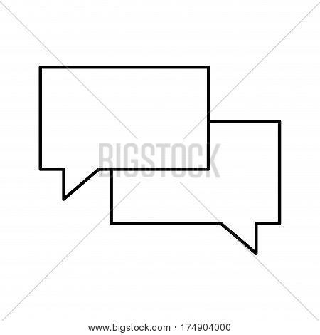 mesaging instant phone mobile vector illustration design