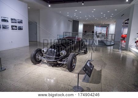 Black 1927 Ford Model T Custom Roadster