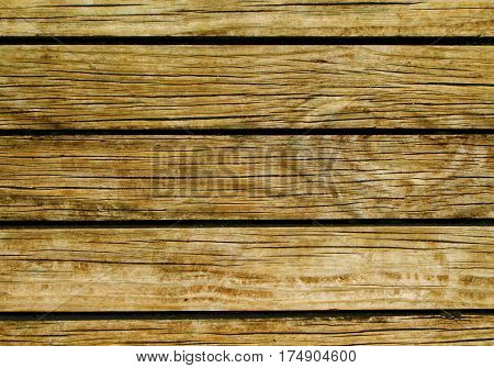 Colored wood background. Natural wood texture with horizontal lines. Wooden background for banner. Timber texture closeup. Horizontal wooden planks of floor backdrop photo. Natural material for banner