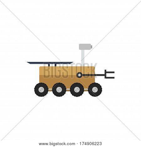 Mars Rover Vector Icon